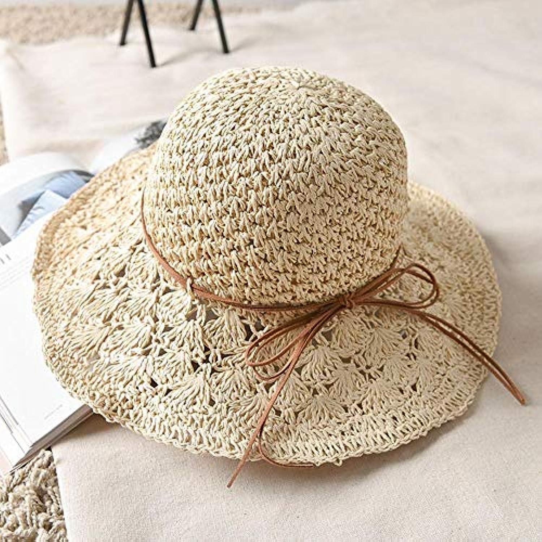 Lywljg Cappelli Solare Cappello Prossoezione Solare Cappelli Tappo Femmina  Sole del Mare Ragazza Estate Spiaggia Pieghevole Cappello... Parent f93478 100a4d4803cc