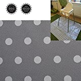 Easy Cleaning Splash Mat for Highchair Weaning Mat Waterproof Multipurpose (Large Grey)
