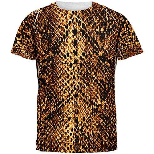 une Schlange Snakeskin Kostüm aller Herren-T-Shirt Multi SM (Halloween-wüsten)