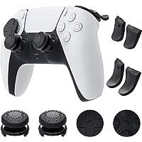 Auarte Kit Accessori Joystick Levette per PS5 Controller Dualsense - 1 Paio Impugnature per Pollice, 2 Coppie Estensori…