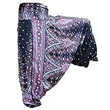 PANASIAM Aladin Pants, Print-Design-Style: Peacock v06b