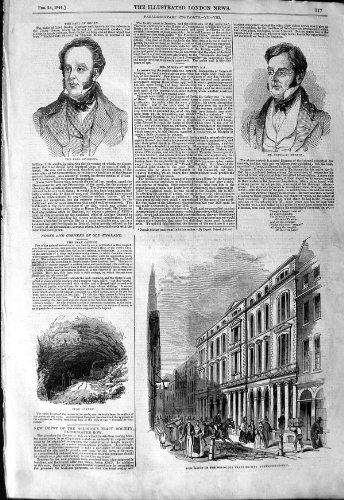 original old antique victorian print Comte 1844 Maximal de Caverne de Pater-Ligne Roden Murphy [Cuisine et Maison] par original old antique victorian print