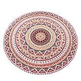 Turno Hippie Tapestry Beach Buttare Roundie Mandala asciugamani Yoga Mat Bohemian  caratteristica:  Marchio 100% nuovo ed alta qualità.  Quantità: 1PC  Questa splendida opera d'arte può essere utilizzato come Tovaglia, Tenda e attaccatura di ...