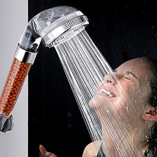 Cabezal de ducha de mano Filtro de iones de ducha