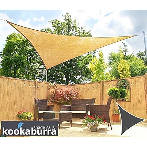 Toldos Vela Kookaburra Arena Triangular 3.6m (Transpirable)