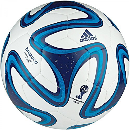 Football Adidas Brazuca Glider White-Blue  Youth Size 4  World Cup 2014 Brasil
