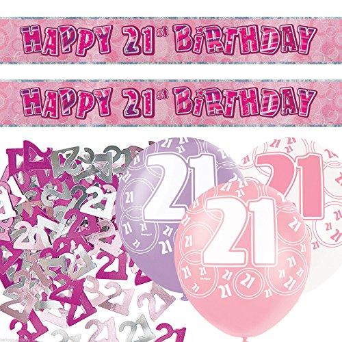 21st Birthday Decorations: Amazon.co.uk