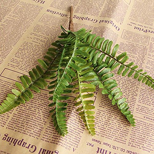 Auntwhale Schöne Gingko Biloba Gefälschte Künstliche Pflanze Floral Leave Foliage Home Party Dekoration