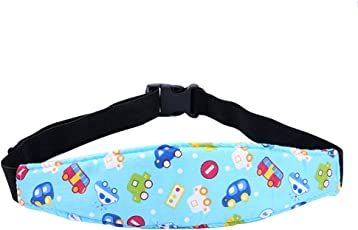 Forberesen Baby Kids Safety Head Support Toddler Car Seat Head Strap Nap Aid Holder Belt, Neck Protection Belt (Style-1)