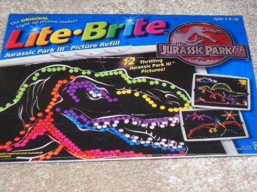 lite-brite-jurassic-park-iii-picture-refill-by-hasbro