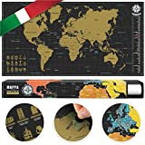 #benehacks Planisfero Mondo da grattare Poster Mappa del Mondo in…
