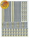 Personalisierte wasserdichte 3M Aufkleber Etiketten für Ihr Fotozubehör, Canon, Nikon, Fuji, Sony Kamerazubehörteile
