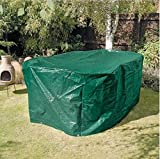 Heavy Duty Polyethylene Oval Patio Set Cover - Provides Ideal Protection For Your Garden Patio Sets - For Oval Tables And Up To Four Chairs