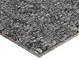 BODENMEISTER Teppichboden Auslegware Meterware Schlinge Grau 400 cm und 500 cm Breit, verschiedene Längen, Variante: 4,5 x 5 M, 1 Stück, 450x500, 7205151BM002_450x500