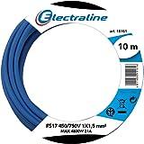 Electraline 13091 Cavo Unipolare FS17, Sezione 1 x 1.5 mm², Blu, 10 m