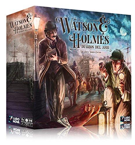 Ludonova - Watson & Holmes: Diarios del 221B (LDNV70001)