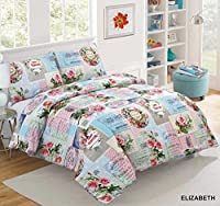 AdamLinens Luxury Duvet Cover Bedding Bed Set, Quilt Cover With Pillowcases