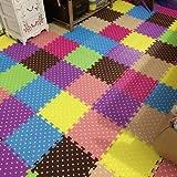 Los niños en el piso alfombra PAD esponja de espuma 30 30 el dormitorio Sala de estar y colchoneta.