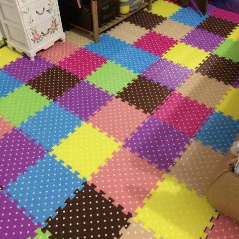 Les enfants de plancher de tapis en Mousse éponge 30 30 épaissie de la chambre salon avec matelas rembourré de puzzle