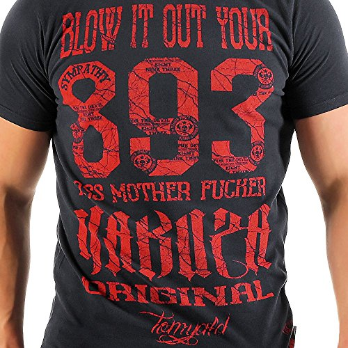 Yakuza Uomo Maglieria/T-Shirt Blow IT Out Blu