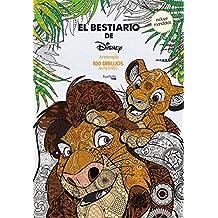 Arteterapia. El Bestiario De Disney (Disney - Arteterapia)