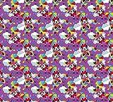 1art1 99054 Micky Maus - Minnie Mouse, TA-DAA Foto-Gardine 180 x 160 cm