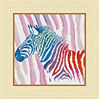 CHshe DIY 5D Zebra Diamond Painting Kits full Cross Stitch Kit Crystal Rhinestone Embroidery Pictures Arts Craft for Home Wall Decor 30*30cm