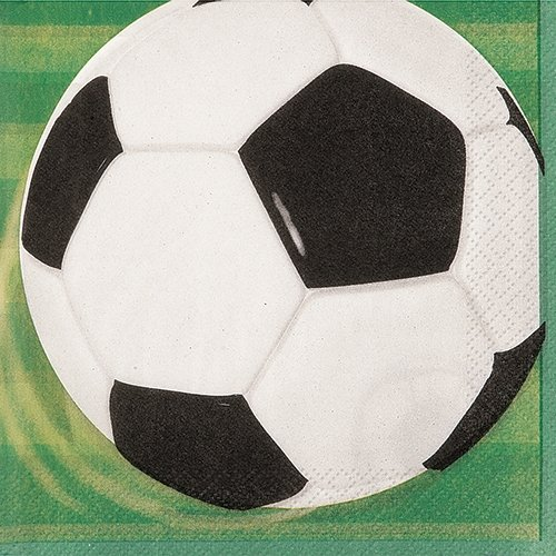 Football Paper Napkins, Pack of 16