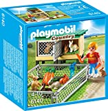 61BqdEsnwML. SL160  - BEST PET STORE Playmobil 6140 Country Farm Rabbit Pen with Hutch PRICE Review UK