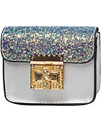 Childplaymate Glitter Sequins Kids Girls Mini Chain Shoulder Bags Party  Messenger Bags e90ce720e934