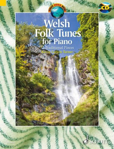 Welsh folk tunes for piano +CD --- Piano