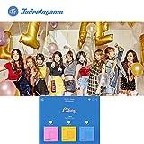 1ST Album TWICE KPOP Vol.1 [Twicetagram] CD + Photo Book + Photo Card + Cover Sticker