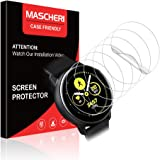 MASCHERI 6 Pack Screen Protector Compatible with Samsung Galaxy Watch Active 2 40mm HD Clear Soft TPU Films Not Glass…