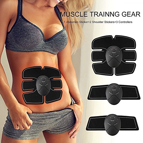 Gadgetsforyou. Electroestimulador EMS Wireless abdominales