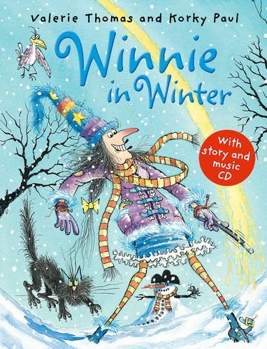 Winnie in Winter (paperback and CD) (Winnie the Witch)