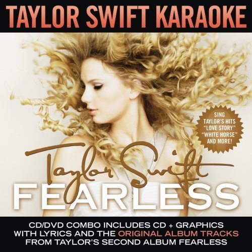 Fearless Karaoke, CD+DVD Edition by Swift, Taylor (2009) Audio CD by Unknown (0100-01-01) - Karaoke-dvd-na