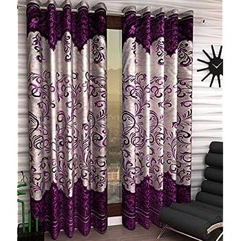 Fresh from Loom Designer Eyelet Door Curtain - 2 Piece