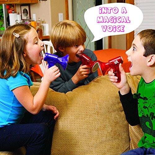 Cido PC 1 Mini LED Cambiador de voz Superbright ruidoso Juguete Para Niños Niños