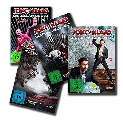Preisvergleich Produktbild Joko gegen Klaas - Das Duell um die Welt: Alle 4 Staffeln: 1. + 2. + 3. + 4. Staffel [12 DVDs]