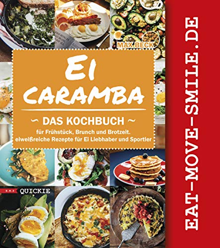 Ei Caramba: Das Kochbuch für Frühstück, Brunch und Brotzeit. Eiweißreiche Rezepte für Ei Liebhaber und Sportler (Quickie 4)