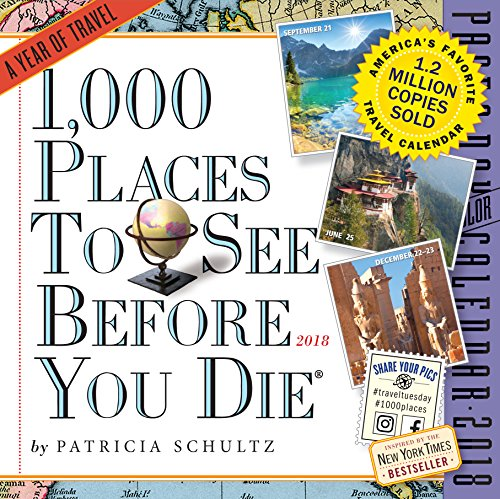 Produktbild 1, 000 Places to See Before You Die 2018 Page-A-Day Calendar: 365 Days of Travel