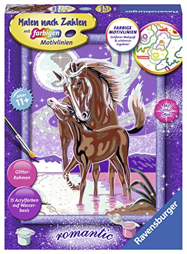 Ravensburger - 285556 - Numéro d'art Set Chuchotements De Cheval