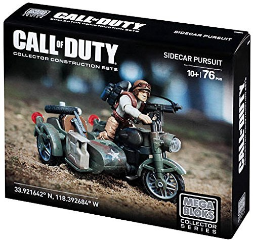 Mega Bloks Call of Duty Sidecar Pursuit Set #38163 by Mega Brands