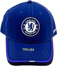 FC Football Club Blue Black Cap Hat Chelsea Replica for Men Women Boys Girls Supporter