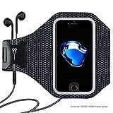 Super Licht Sport Armband - EleACC Schweißbeständig Wasserdicht Armband Etui Case Hülle iPhone-ID Touch für IOS Android Smartphone MP3 GPS-Gerät Unter 5,5 Zoll