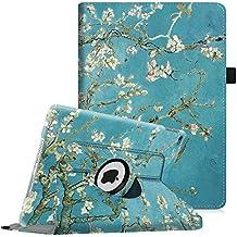 Fintie iPad Air 2 Funda - Giratoria 360 grados Smart Case Funda Carcasa con Función y Auto-Sueño / Estela para Apple iPad Air 2 (iPad 6th Generación 2014 Versión) 9.7 Inch iOS Tableta, Blossom
