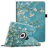 Fintie iPad Air 2 Funda - Giratoria 360 grados Smart Case Funda Carcasa con Función y Auto-Sueño /...