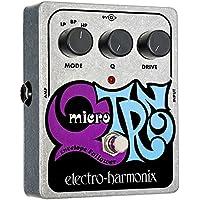 electro-harmonix Micro Q-Tron - Pedal de filtros para guitarra, color plateado