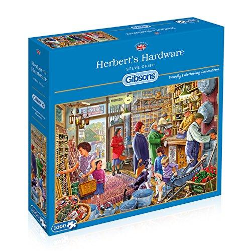 Preisvergleich Produktbild Gibsons Herberts Baumarkt - Steve Crisp 1000 Stück Jigsaw Puzzle