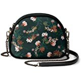 DailyObjects Lush Midnight Arch Sling Crossbody Bag for girls and women | Vegan leather, Stylish, Sturdy, Zip closure, with C